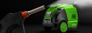 Паровая мойка двигателей‒эффективное удаление любых загрязнений
